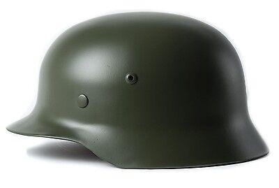 *Green* Collectable WW2 German M35 Motorcycle Helmet Army Field Helmet