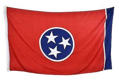 3x5 Tennessee State Flag State of Tennessee Premium Banner FAST USA SHIPPER
