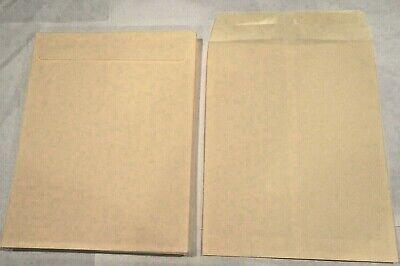 10 X 13 Manila Kraft Catalog Shipping Mailers Envelopes W Gummed Closure Lot