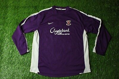 CLYDEBANK # 6 SCOTLAND 2010/2011 FOOTBALL SOCCER SHIRT JERSEY AWAY NIKE ORIGINAL image