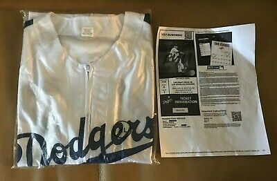 best cheap 70a69 78258 Los Angeles Dodgers Jackie Robinson Jersey SGA 4 15 19 Size XLG With Ticket