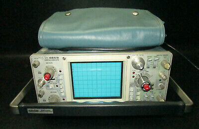 Tektronix Model 465b 100 Mhz 2-channel Analog Oscilloscope