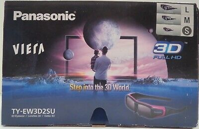 Panasonic TY-EW3D2SU 3D Active Shutter Eyewear for Panasonic 3D HDTVs - Small