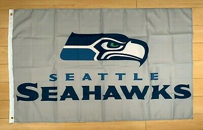 Seattle Seahawks Flag 3x5 ft NFL Indoor/Outdoor Banner - Seahawks Banner