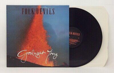 Folk Devils: Goodnight Irony - 1987 UK Situation Two - Vinyl LP - NM/NM