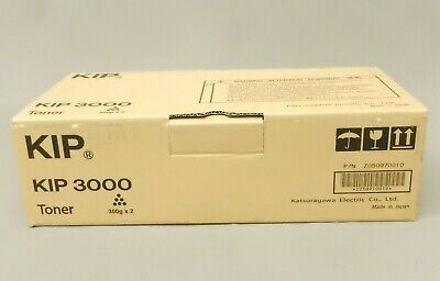 Kip-3000 Kip 3000 Black Toner Cartridge 2 Pack Z050970010 Genuine New Sealed Box