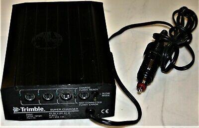 Trimble 5600 Robotic Charger Battery Pack 12-volt Power Cable Etc.