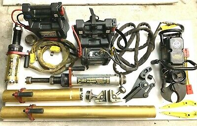 Hurst Powerhawk P-16 Jaws Of Life Rescue System Kit New Lithium Battery Extras