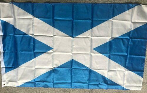 Sottish Saltire  flag 5 x 3 feet  light blue