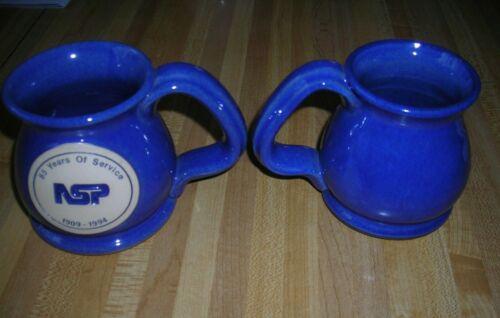 Blue & White Mug Gift From NSP Stockholder Meeting 1994 Price Per Mug