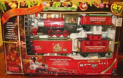 Santa Express Christmas Train Set EZTEC 27 Pieces