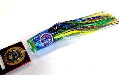 """13/"""" Pakula Sprocket Jet- Paua Fallen Angel #1 Blue Marlin Trolling Lure NEW"""