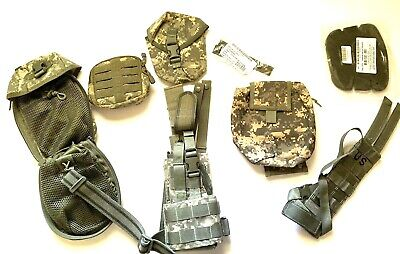 Lot of 8  US Army Military ACU Gear - Pouches...