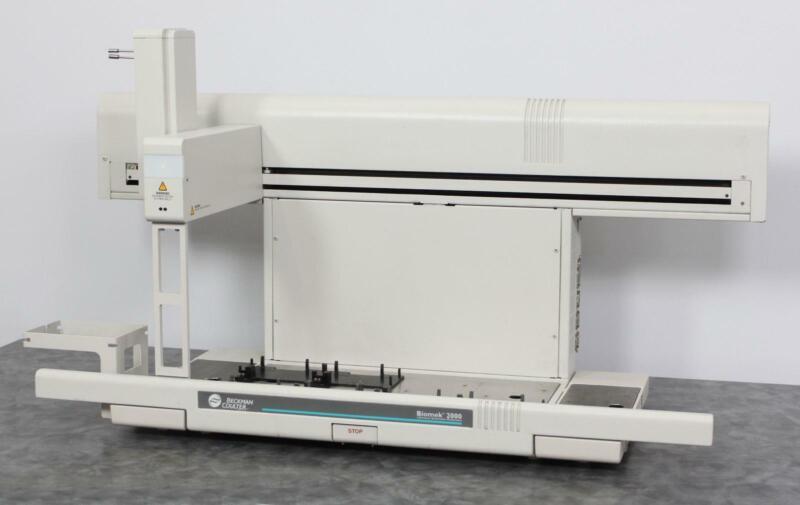 Beckman Coulter Biomek 2000 Laboratory Robotic Liquid Handler Pipet Workstation