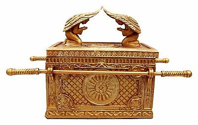 Ark Of The Covenant Ark Of The Testimony Two Cherubim Jewelry Box Trinket Angel