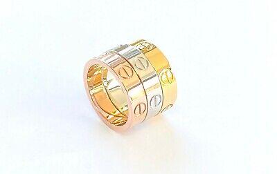 Love Screw Ring - Top Quality Hypo Allergenic Non Tarnish Guaranteed UK Seller