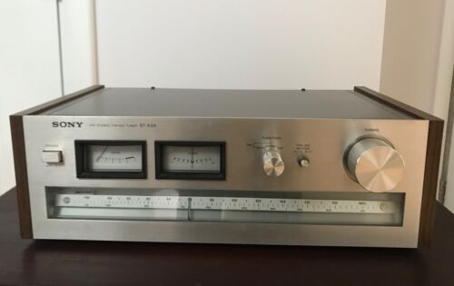 Vintage Sony ST-A3A  FM/AM Stereo Tuner 1977-1978  Rare!  serviced, working