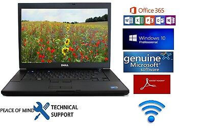 Dell Latitude E6400 Laptop Notebook 1000Gb Hdd Windows 10 Pro Office 365 Support