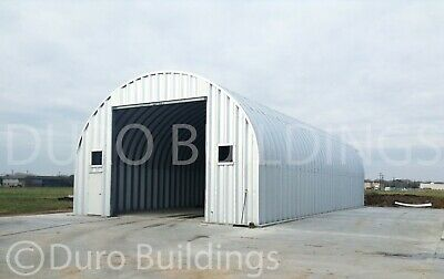 Durospan Steel 40x40x16 Metal Diy Building Garage Kit Workshop Factory Direct