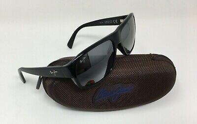 Maui Jim FREE DIVE Men's Black Sunglasses Polarized Neutral Grey GLASS 59mm (Maui Jim Free Dive)