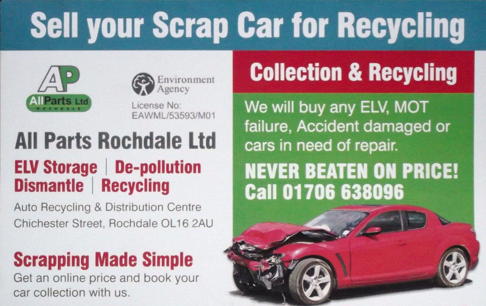 Items in Allparts Rochdale Ltd shop on eBay.