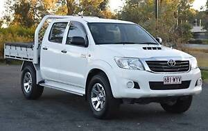 2013 TOYOTA HILUX 4X4 TURBO DIESEL AUTOMATIC Fraser Belconnen Area Preview