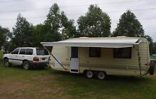 Golf 21 ft GT Tourer Tandem Axle Caravan Kurrajong Hills Hawkesbury Area Preview