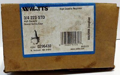 Watts 223-STD-3-4 High Capacity Water Regulator