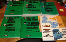 1982 Ford Mustang Shop Service Manual + Wiring Diagrams ...
