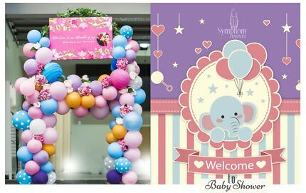 Baby shower decorations Bridal shower decorations Baby shower balloons