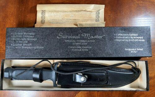 VINTAGE SABURO SURVIVAL MASTER KNIFE (HANDMADE IN JAPAN) SKSRS
