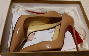 Christian Louboutin So Kate size 36 nude heels Melbourne CBD Melbourne City Preview