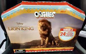 WOOLWORTHS DISNEY LION KING SERIES 2 OOSHIES ADVENT CALENDAR BNIB