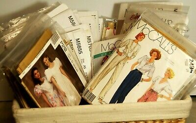 McCall Women's Assorted Styles Uncut Sewing Patterns Multi-Size Your Choice