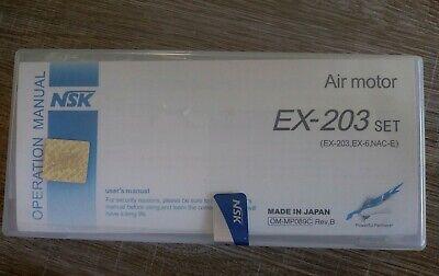 Dental Nsk Low Speed Handpiece Ex-203 Set Japan