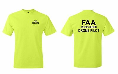 FAA Registered Drone Pilot  T-shirts S-5XL sizes