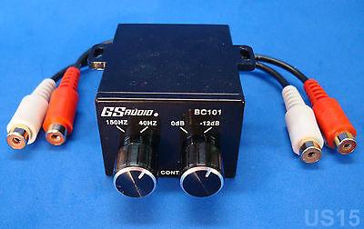 Dual Knob Bass Control Sound Processor Mini Crossover Audio Eq Signal Equalizer