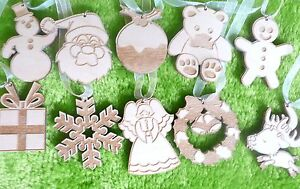 10-x-wooden-Christmas-decoration-tree-ornaments-engraved-and-personalised-gift