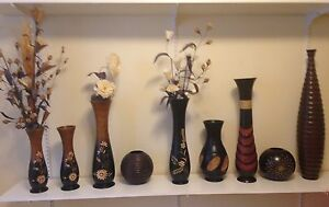 Hand crafted Vases