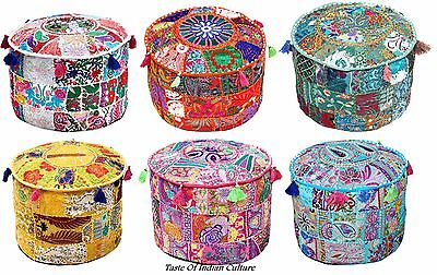 Patchwork-sitzkissen (Indisch Vintage Patchwork Sitzkissen, Schemel, Sessel, Marokkanische Groß Sitz)