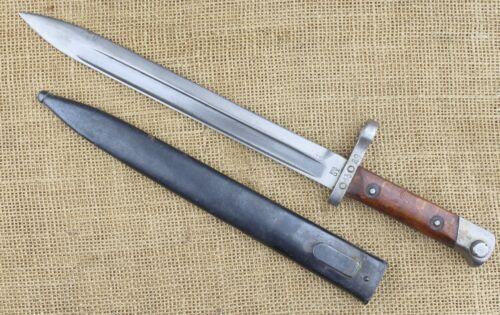 Bulgarian 1895 Mannlicher bayonet. Lion stamped.