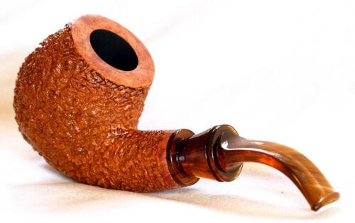 Rinaldo UNSMOKED OVERSIZED Lithos YYY Titania Brandy/ 360 Flame Grain/ Handmade