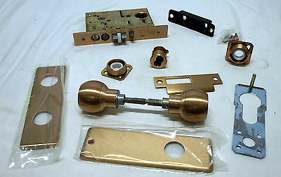 Best Mortise Lock 34h7e4j-612-rh Brass Steel Lockset - Nos