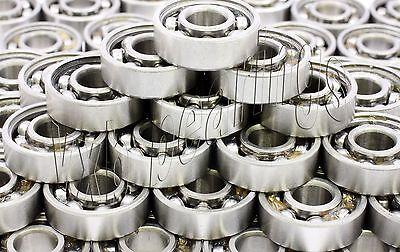 Lot Of 100 Ball Bearings 6203z 17x40x12 One Shield Single Side Metal Shielded