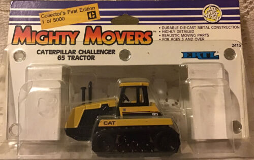 Cat Challenger 65 Tractor By Mighty Movers 1 Of 5000 Collector 1/64 Scale NIB