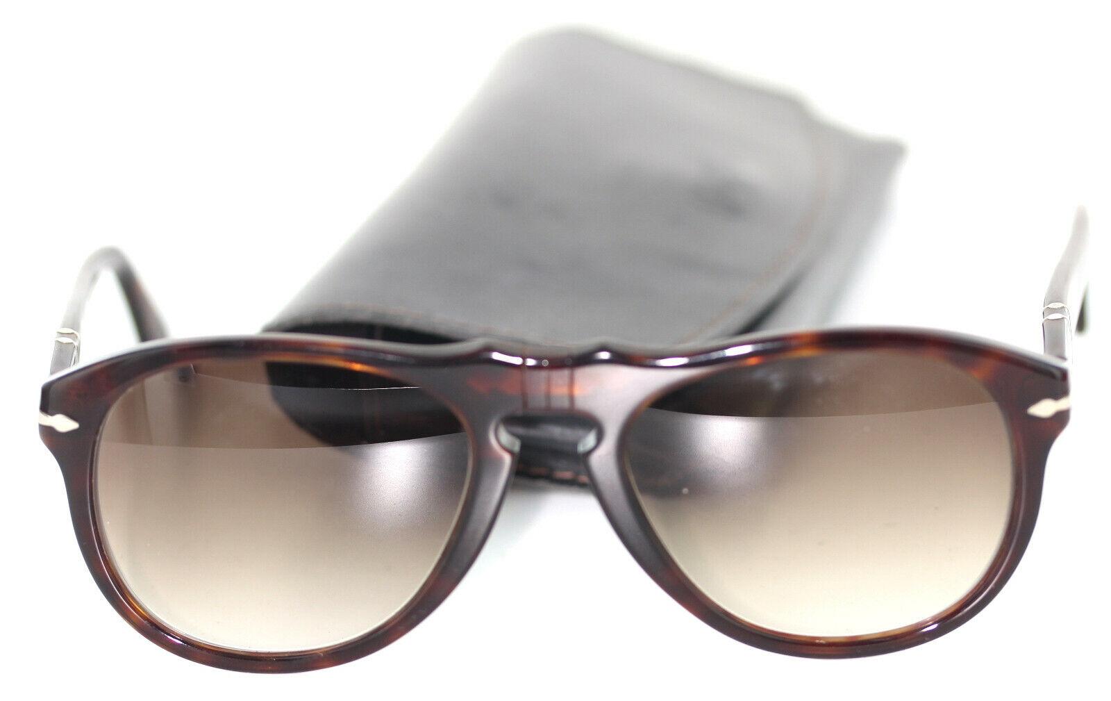 Persol 649 2451 Brille Sonnenbrille Braun (Havana) glasses prescription LENS