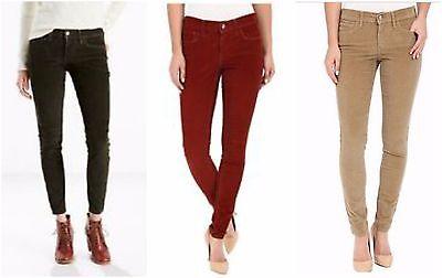 New Levi's Womens 710 Super Skinny Corduroy Stretch Denim Jeans All Sizes 24-34 (Denim Corduroys)