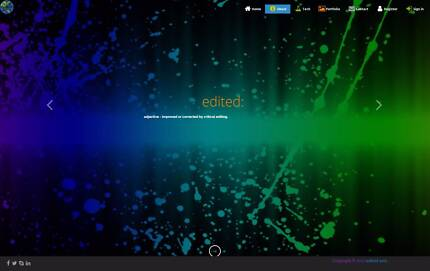 edited web