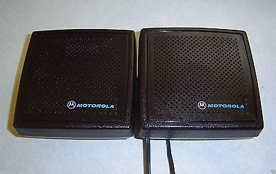 Lot Of 2 Motorola Hsn4018a Speaker For Syntor Spectra Radio