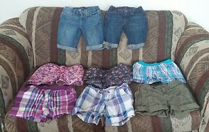 Girls Brand Name Lot of Shorts 7/8